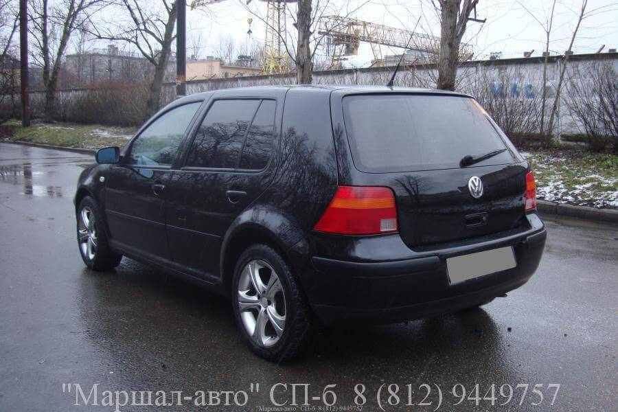 Volkswagen Golf (Фольксваген Гольф)-4