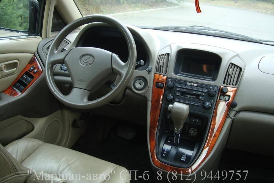 Lexus RX I 300 99г. 6 в Санкт-Петербурге