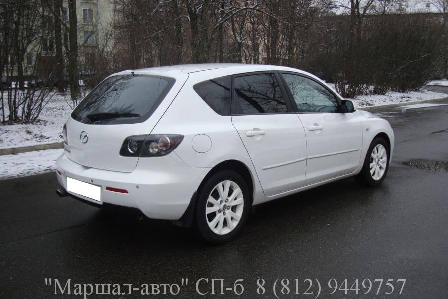 Mazda 3 I 06г. 1.6 АT 3 в Санкт-Петербурге