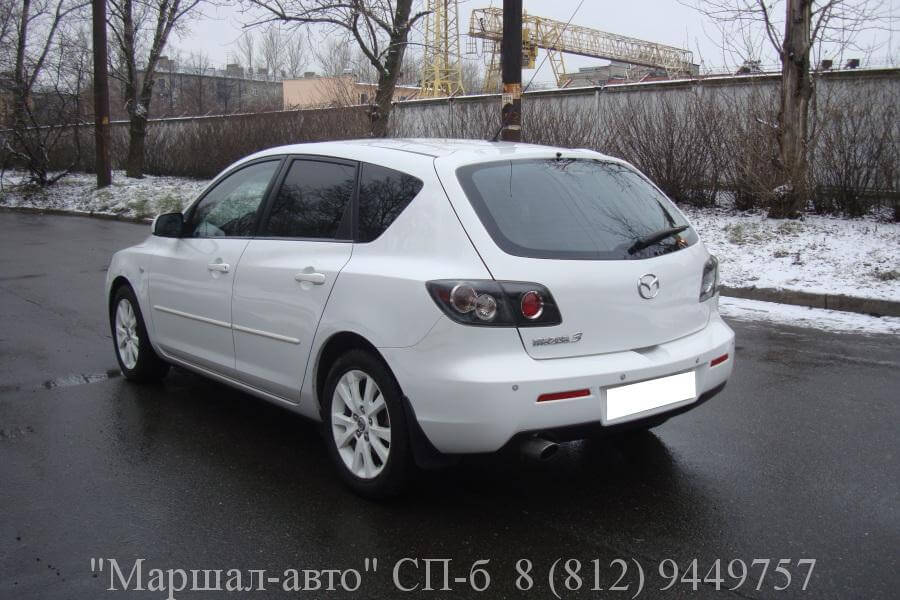 Mazda 3 I 06г. 1.6 АT 4 в Санкт-Петербурге