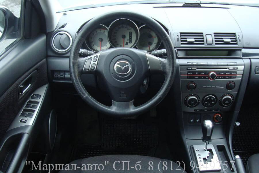 Mazda 3 I 06г. 1.6 АT 5 в Санкт-Петербурге