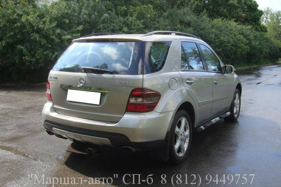 Mercedes ML W164 07г. 3.5 3 в Санкт-Петербурге