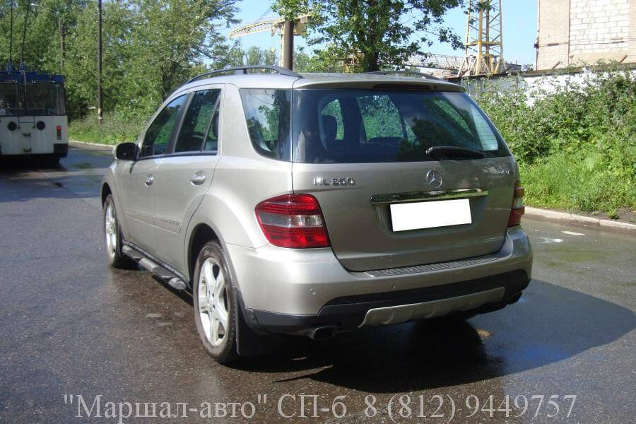 Mercedes ML W164 07г. 3.5 4 в Санкт-Петербурге
