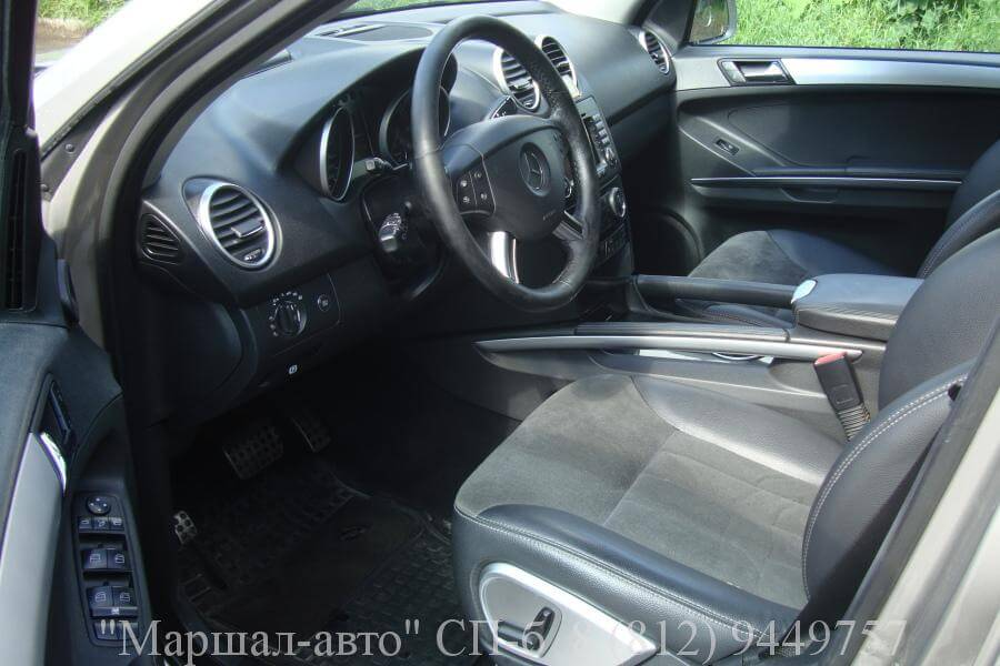 Mercedes ML W164 07г. 3.5 6 в Санкт-Петербурге