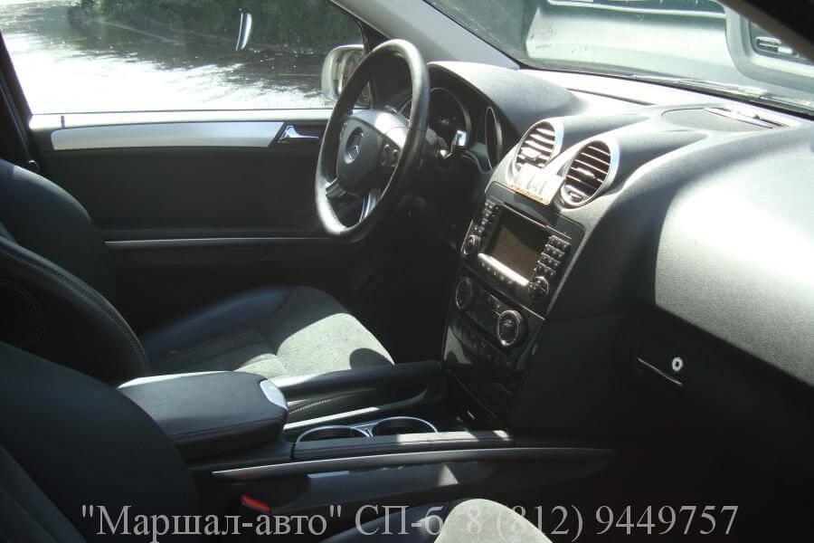 Mercedes ML W164 07г. 3.5 7 в Санкт-Петербурге