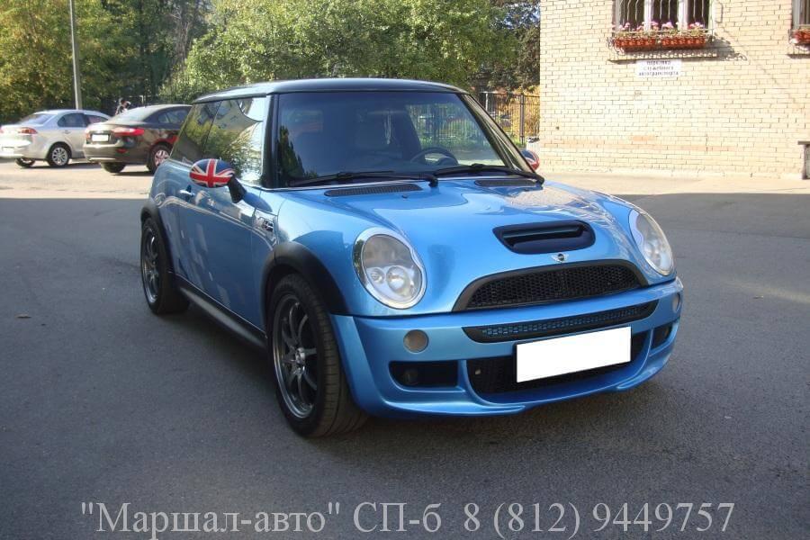 Mini Cooper S 02г. 1.6 MT 2 в Санкт-Петербурге