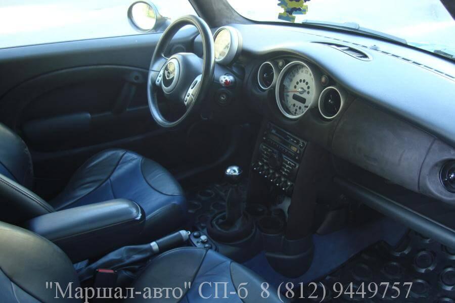 Mini Cooper S 02г. 1.6 MT 5 в Санкт-Петербурге