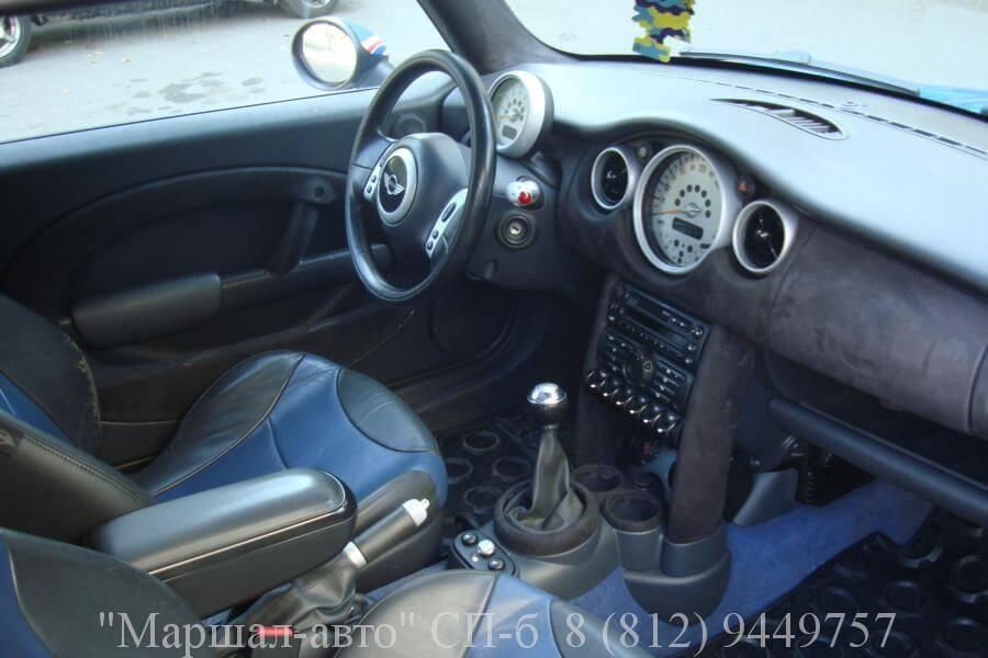 Mini Cooper S 02г. 1.6 MT 6 в Санкт-Петербурге