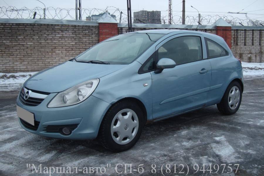 Opel Corsa D 07 MT 1.2л 1 в Санкт-Петербурге