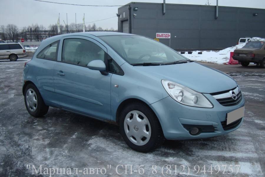 Opel Corsa D 07 MT 1.2л 2 в Санкт-Петербурге