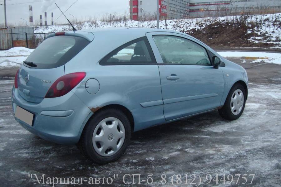 Opel Corsa D 07 MT 1.2л 3 в Санкт-Петербурге