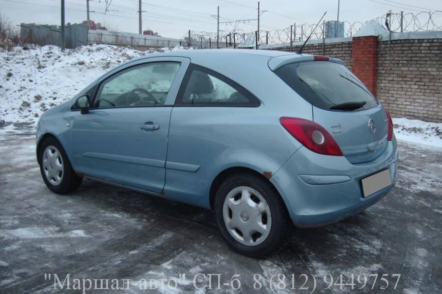 Opel Corsa D 07 MT 1.2л 4 в Санкт-Петербурге