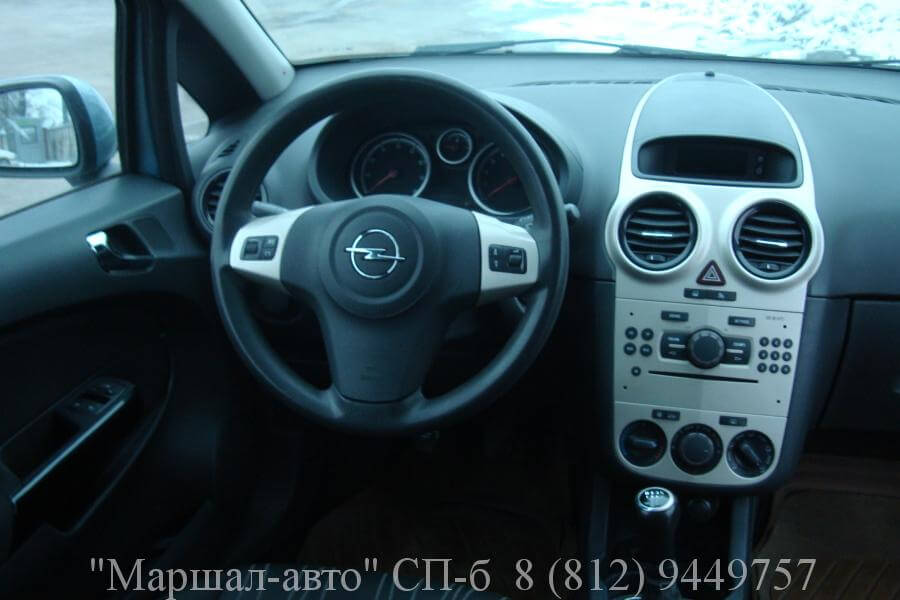 Opel Corsa D 07 MT 1.2л 5 в Санкт-Петербурге
