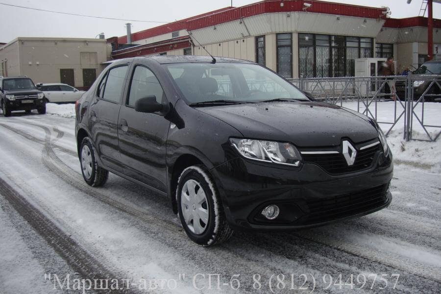 Renault Logan II 14г. 1.6 MT 2 в Санкт-Петербурге