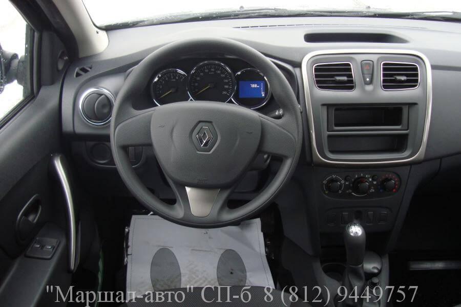 Renault Logan II 14г. 1.6 MT 5 в Санкт-Петербурге