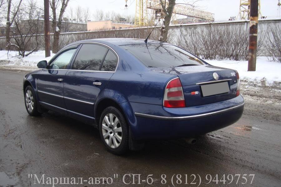 Skoda Superb1 1.8T 2007 4 в Санкт-Петербурге