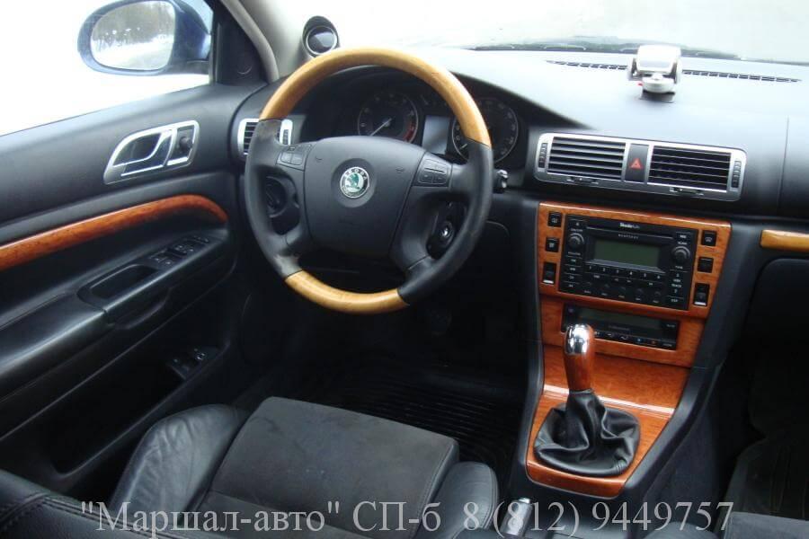 Skoda Superb1 1.8T 2007 5 в Санкт-Петербурге