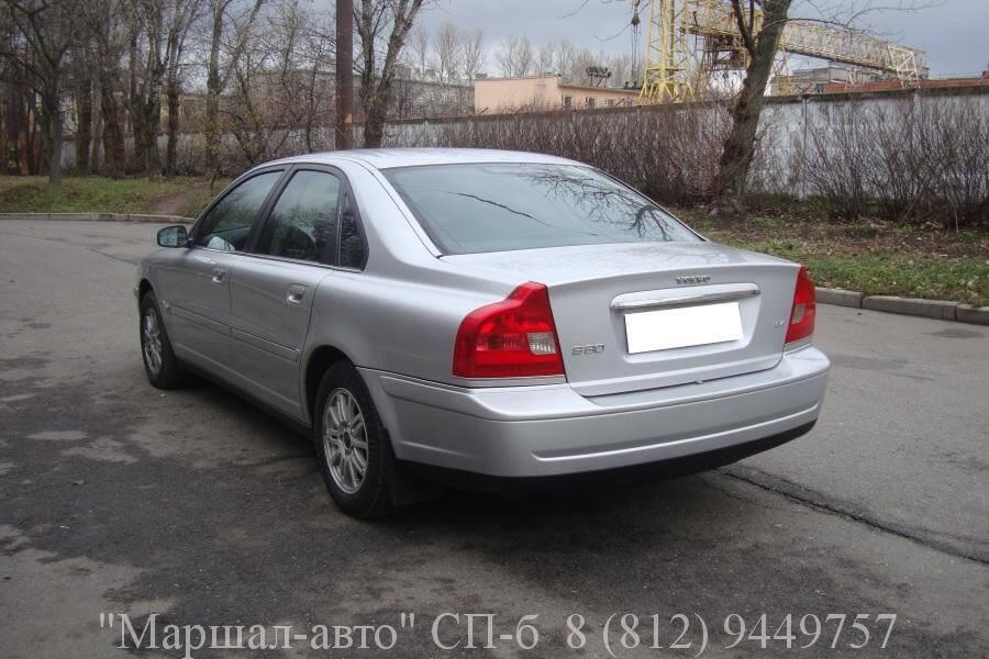 Volvo S80 I 01г. 2.4 AT 4 в Санкт-Петербурге