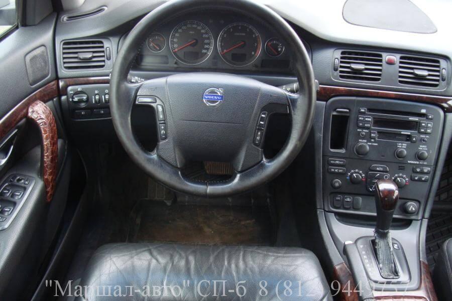 Volvo S80 I 01г. 2.4 AT 5 в Санкт-Петербурге
