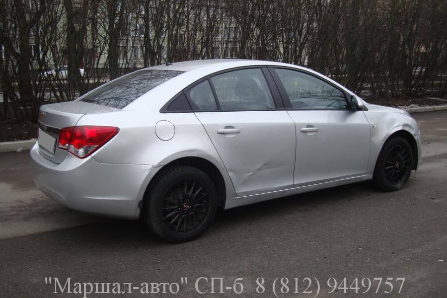 Chevrolet Cruze 12г. 1.6 МТ 3 в Санкт-Петербурге