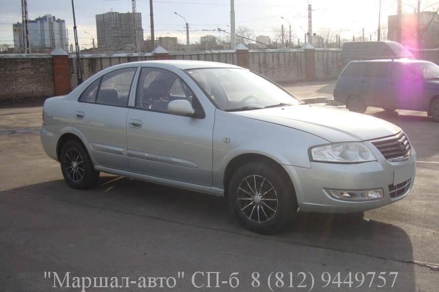 Nissan Almera 08 г. 1.6 2 в Санкт-Петербурге