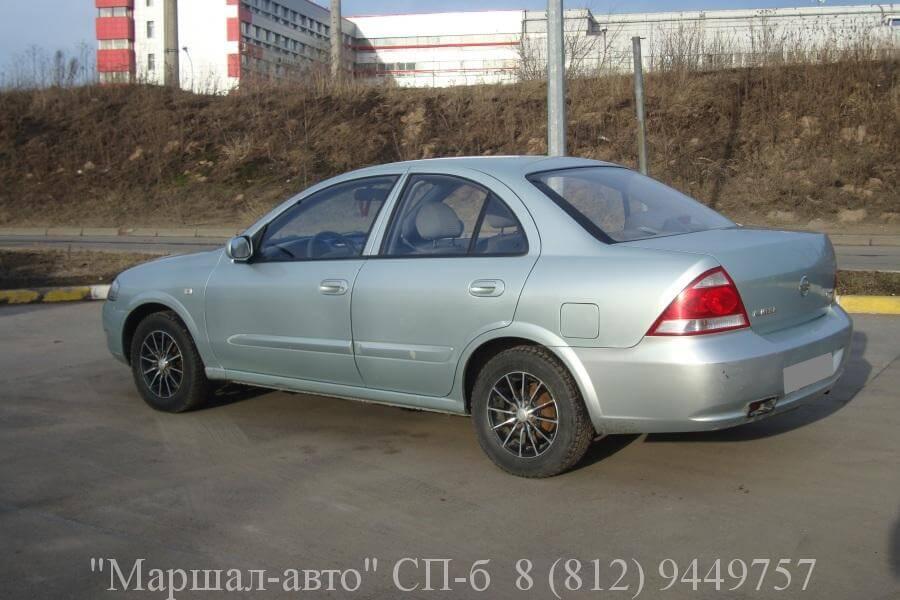 Nissan Almera 08 г. 1.6 4 в Санкт-Петербурге