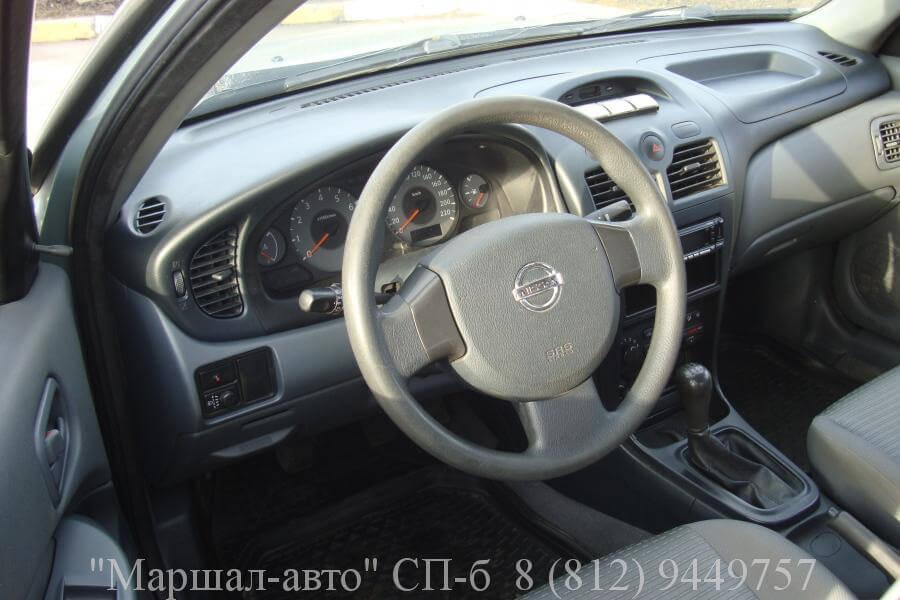 Nissan Almera 08 г. 1.6 5 в Санкт-Петербурге