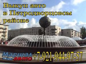 Выкуп авто в Петродворцовом районе с выездом на место