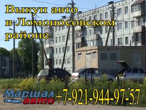 Выкуп авто в Ломоносовском районе ЛО