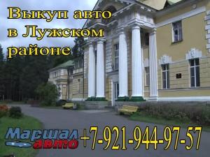 Выкуп авто в Лужском районе Ленинградской области
