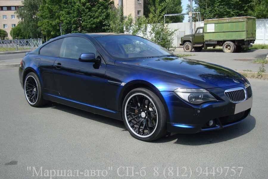 продать автомобиль BMW 645 05 г в Санкт-Петербурге и Лен. области