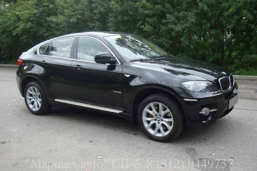 Автосалон продает автомобиль BMW X6 2008 года выпуска