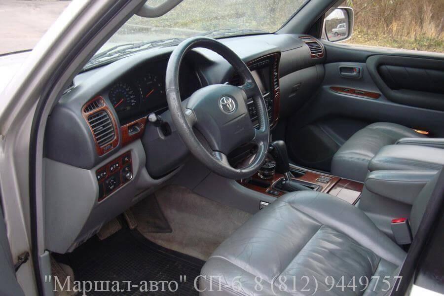 Автосалон Маршал авто продает Toyota Land Cruiser 100 2002 года выпуска