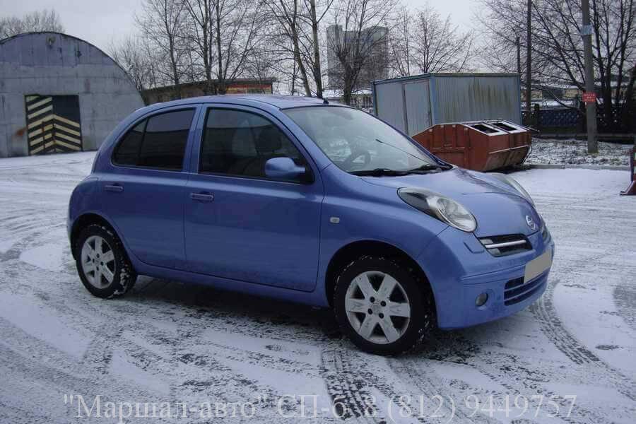 """Автосалон """"Маршал авто"""" предлагает продать авто Nissan Micra 3 2005 года выпуска"""
