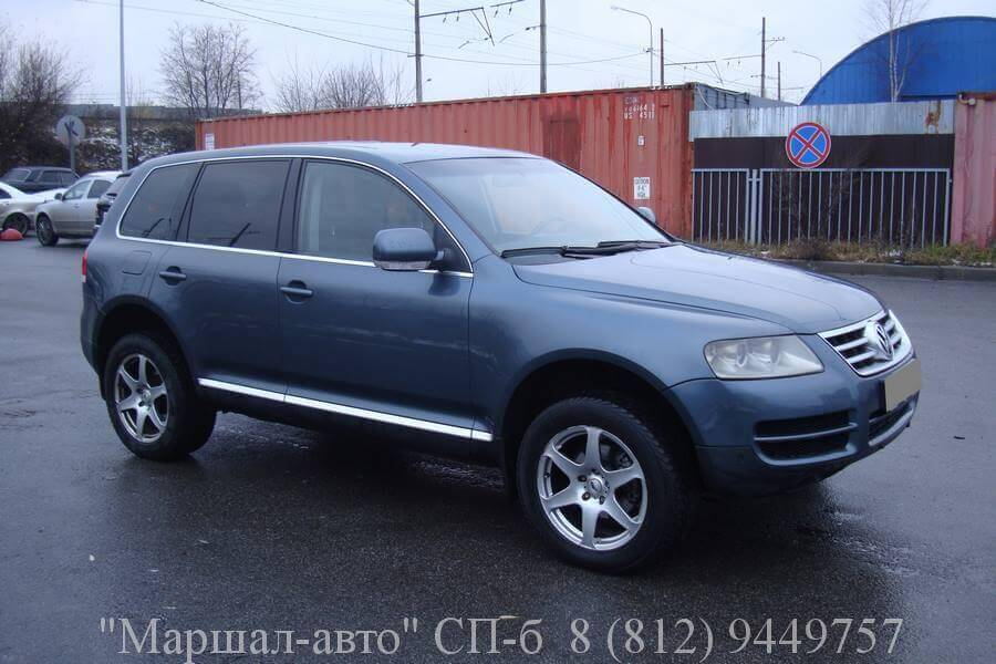 «Маршал авто» предлагает продать автомобиль Volkswagen Touareg 2006 г