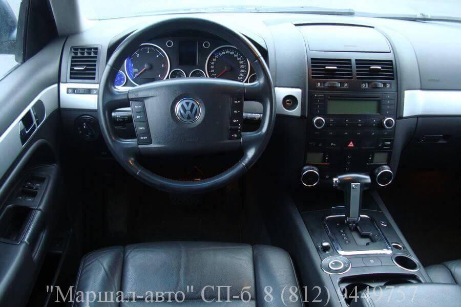 «Маршал авто» предлагает продать автомобиль Volkswagen Touareg 2006 года выпуска